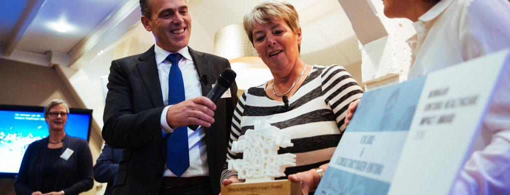 MijnIBDcoach winnaar Vintura Healthcare Impact award 2016