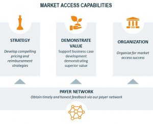 capabilities market access: strategy, demonstrate value, organization and payer network